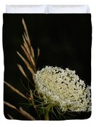 Formal Queen Anne's Lace Study Portrait Duvet Cover