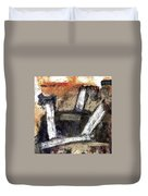Formation. Abstract World Duvet Cover