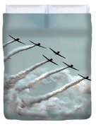 Formation Fly By Duvet Cover