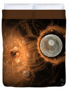 Formation Of New Planets Duvet Cover