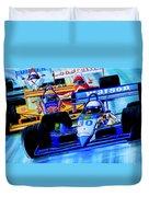 Formula 1 Race Duvet Cover