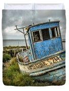 Forsaken Fishing Boat Duvet Cover
