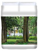 Forsyth Park Inn In Savannah  3205 Duvet Cover