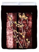 Forsythia Branch Duvet Cover