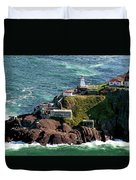 Fort Amherst At St. Johns New Foundland Duvet Cover