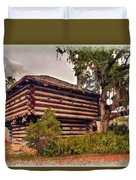 Fort Christmas Florida Duvet Cover
