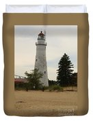 Fort Gratiot Light Duvet Cover