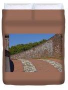 Fort Macon Duvet Cover