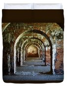 Fort Morgan Arches Duvet Cover