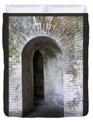 Fort Pickens Entrance Duvet Cover