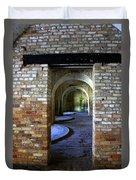 Fort Pickens Interior Duvet Cover
