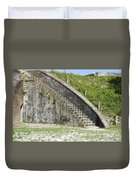 Fort Pickens Stairs Duvet Cover