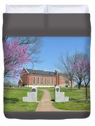 Fort Smith National Historic Site Gateway C Duvet Cover