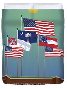 Fort Sumter, Charleston, Sc Duvet Cover