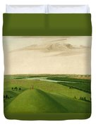 Fort Union Mouth Of The Yellowstone River 2000 Miles Above St Louis Duvet Cover