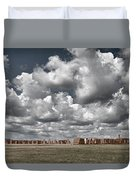 Fort Union New Mexico Duvet Cover