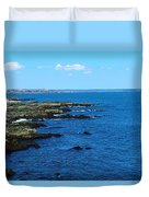 Fort Williams Park Duvet Cover
