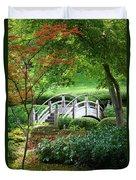 Fort Worth Botanic Garden Duvet Cover