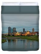 Fort Worth Color Duvet Cover by Jonathan Davison