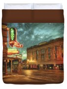 Fort Worth Impressions Main And Exchange Duvet Cover