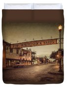 Fort Worth Impressions Stockyards Duvet Cover