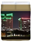 Fort Worth Texas Duvet Cover