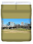 Fort Worth Wide Angle Duvet Cover