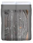 Fortress Doors Duvet Cover