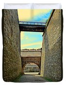 Fortress Ehrenbreitstein. Koblenz. Germany.  Duvet Cover