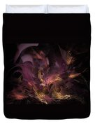 Fortress Of The Mind - Fractal Art Duvet Cover