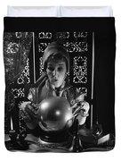Fortune Teller, C.1970s Duvet Cover