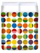 Forty Nine Circles Duvet Cover