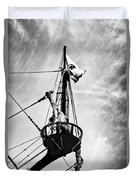 Forward Crow's Nest Duvet Cover