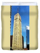 Foshay Tower From The Street Duvet Cover