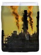 Fossil Fuels Duvet Cover