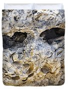 Fossil Rock Abstract - Eyes Duvet Cover