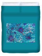 Foulee De Petales - A01t Duvet Cover by Variance Collections