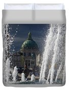 Fountain At Amalie Garden Next Duvet Cover