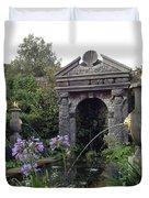 Fountain Garden Duvet Cover