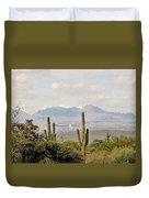 Fountain Hills Arizona Duvet Cover