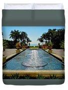 Fountain Pool Duvet Cover
