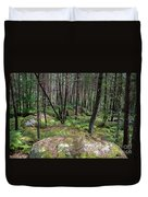 Fountainbleau Forest Duvet Cover