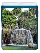 Fountains.  Tivoli. Duvet Cover