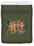 Four Anasazi Duvet Cover
