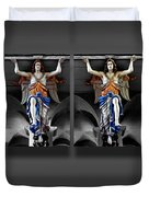 Four Angels Of The Corvey Abbey Duvet Cover