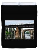 Four Bridges Of East Falls Duvet Cover