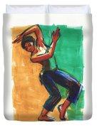Four Colors Movement Duvet Cover