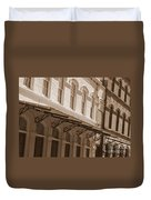 Four Corners In New Orleans Duvet Cover