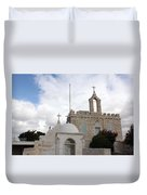 Four Crosses Duvet Cover