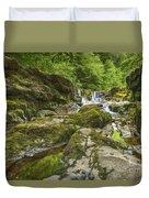 Four Falls Walk Waterfall 3 Duvet Cover